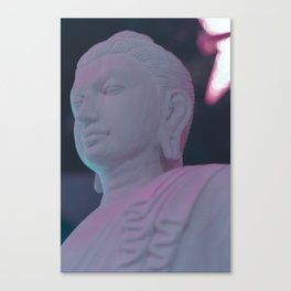 NEON BUDDHA Canvas Print