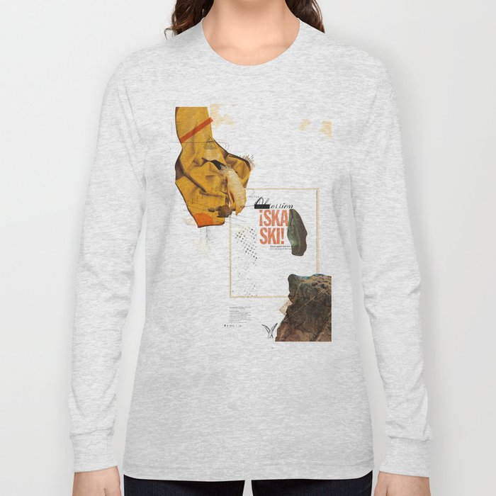 """""""Prescriptions and Placebos"""" - Mixed Media 1 of 2 Long Sleeve T-shirt"""