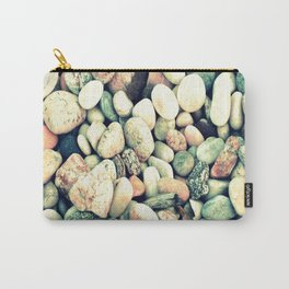 Pastel Rocks Carry-All Pouch