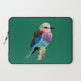 Lilac Breasted Roller Bird Laptop Sleeve