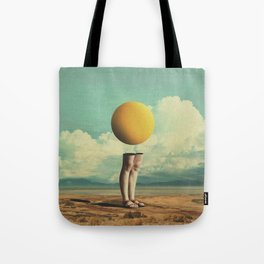 Lone Poker-Face Tote Bag