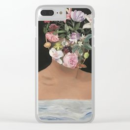 Thoughts In Bloom Clear iPhone Case