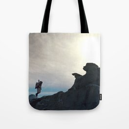 One Small Step Tote Bag