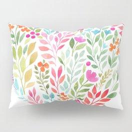 Floral Heart Pillow Sham