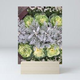 Foliage patterns Mini Art Print