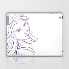 Purple Portrait Laptop & iPad Skin