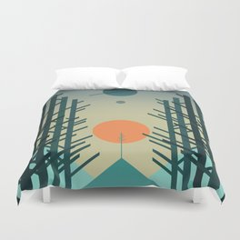 Alignment Duvet Cover