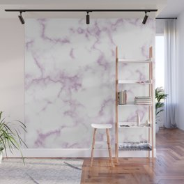 Marble in Pink Wall Mural