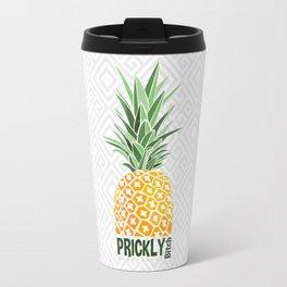 Pineapple lovers 'Prickly Bitch' series Travel Mug