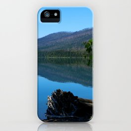 Lake McDonald Impression iPhone Case