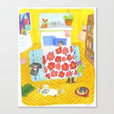 Perfect Bedroom Canvas Print