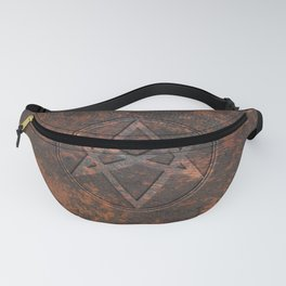 Men of Letters Leather Fanny Pack