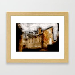 Old house 1 Framed Art Print