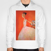 ballerina Hoodies featuring Ballerina by Madison R. Leavelle