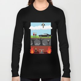 Supernatural - From Heaven and Hell Long Sleeve T-shirt