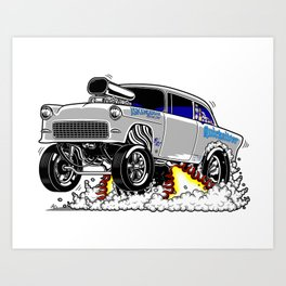 Quicksilver Gasser Art Print