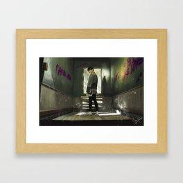 Sick of this Fake Love Framed Art Print