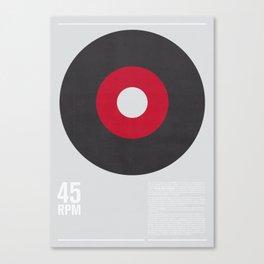 45 RPM Canvas Print