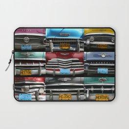 Cuba Car Grilles - Horizontal Laptop Sleeve