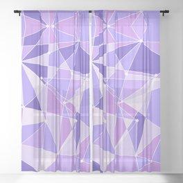 The Purple Wall Sheer Curtain
