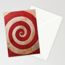 Sideshow Carnival Spiral Stationery Cards