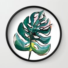 Golden Girl II Wall Clock
