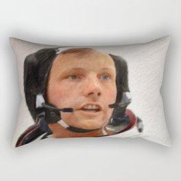 Neil Armstrong, Astronaut Rectangular Pillow