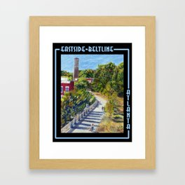 Eastside Beltline, Atlanta Framed Art Print