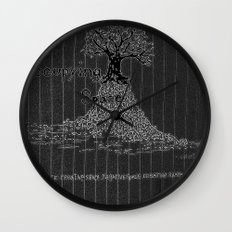 The Occupation Wall Clock