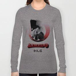 Aikido throw Long Sleeve T-shirt