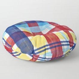 Plaid BRY Floor Pillow
