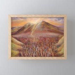 Rising Up Framed Mini Art Print