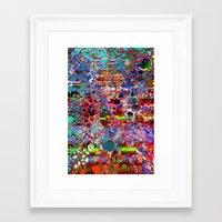 wooden Framed Art Prints featuring wooden highlands by donphil