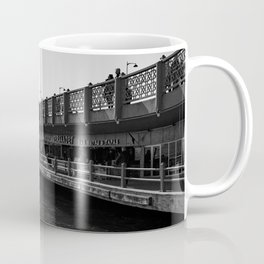 City of bridges, urban, photography, black and white Coffee Mug
