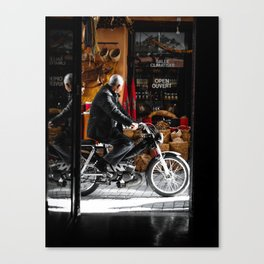 Streets of Marrakech Canvas Print
