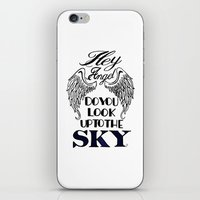 larry stylinson iPhone & iPod Skins featuring Hey Angel (Larry Stylinson) by Arabella