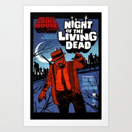 Night of the Living Dead Art Print