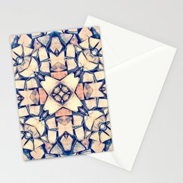 Cut Wood Logs Stationery Cards