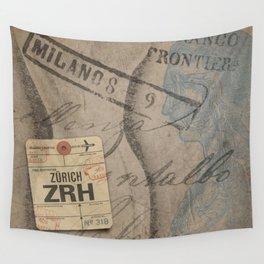 Frontiera ZRH-Milano Wall Tapestry