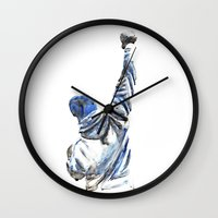 rocky Wall Clocks featuring rocky by dareba