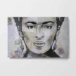 Frida Kahlo «Press» Metal Print