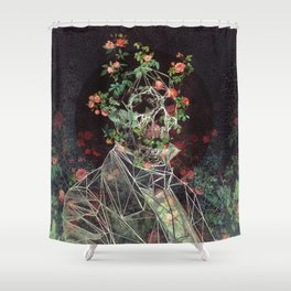 Mr. Cage Shower Curtain