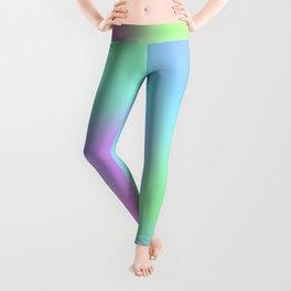Soft Gradient Design (Pastel Pink, Purple, Blue, and Green) Leggings