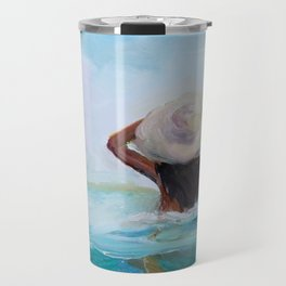 Private Beach Travel Mug