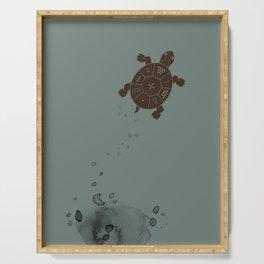 Lo Shu Turtle Serving Tray