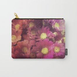 Flowers for someone / Vintage Flowers Carry-All Pouch