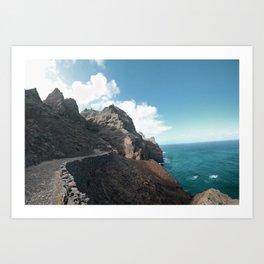 Punta do Sol Art Print