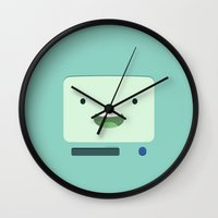 bmo Wall Clocks featuring BMO by dudsbessa