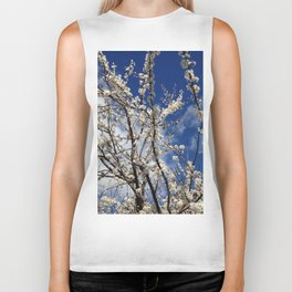 Apple Blossoms Biker Tank