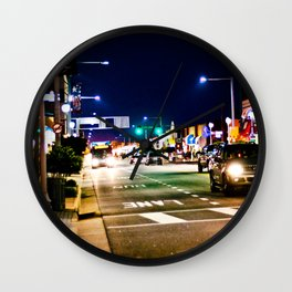 In The Streets Wall Clock